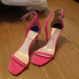 Stuart Weitzman Hot Pink Heel